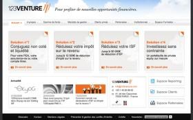AAZ Interactive signe la refonte du site de 123Venture