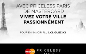 Mastercard : Paris devient Priceless !