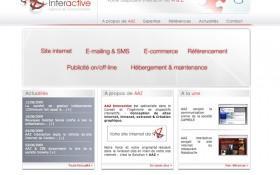 Ouverture du site internet d'AAZ Interactive