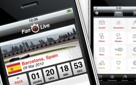 Zee Agency réalise le design de l'application iPhone Fan F1™ Live