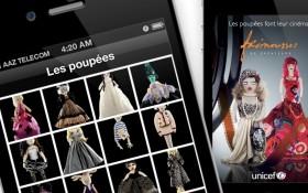 Aaz Interactive et Zee Agency lancent l'application iPhone des Frimousses de Créateurs pour l'UNICEF