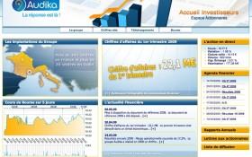AAZ Interactive retenue pour la réalisation du site financier d'Audika