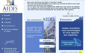 Aedes Immobilier ouvre ses portes