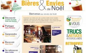Brasseur d'Avenir ou la bière de Noël façon Ez_concept et AAZ Interactive.