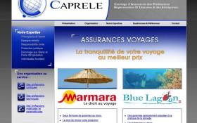 Création d'un mini-site Caprele Marmara
