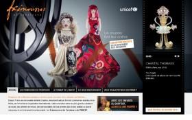 Les Frimousses de Créateurs de l'UNICEF font leur  Cinéma sur la toile avec Zee Agency