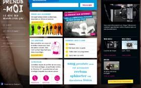 Lancement du site Prends-moi, réalisé par McCann Paris et Zee Agency