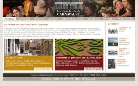 Aaz Interactive signe la refonte du site des Amis du Musée Carnavalet