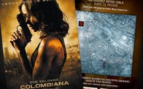 EuropaCorp et Zee Agency convient les internautes à traquer les vilains de Colombiana sur Facebook