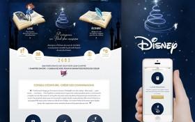 Disney a choisi Zee Agency pour leur conte de Noël