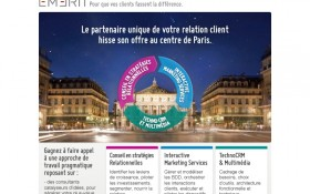 EMERIT hisse son offre au centre de Paris
