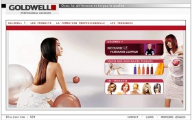 Lancement du site internet www.goldwell.fr