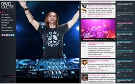 DavidGuetta.com feat. Zee Agency : lancement du site officiel remixé du DJ français