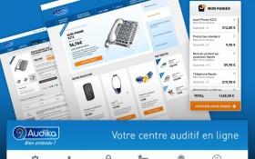 Zee  signe la création de la boutique en ligne d'Audika