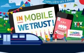 L'application mobile Voyage SNCF fête ses trois ans avec Zee Agency