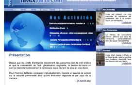 Mise en ligne du site Invex Paris