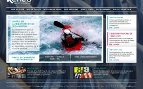 Zee Agency conçoit le nouveau site internet de l'agence Keneo