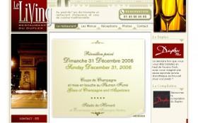 AAZ conçoit le site internet du restaurant