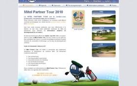 Aaz Interactive réalise un birdie pour le Mitel Partner Tour 2010