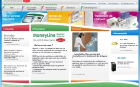 Lancement du site internet Ingenico MoneyLine Banking Systems