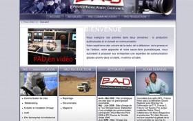 Lancement du site PAD Communication