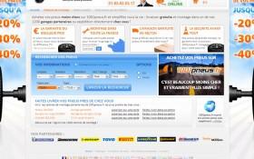 Aaz Interactive met la gomme dans la refonte graphique du site 1001 pneus