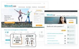 Zee signe la refonte du site 123credit.com - Filiale du Groupe Laser