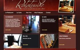 Mise en ligne du site internet Ratatouille