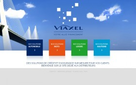 La Washing Machine et Zee Agency signent la refonte du site Viaxel
