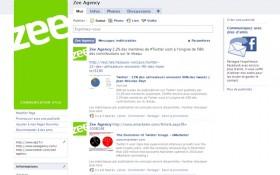 Zee Agency fait le mur sur Facebook !