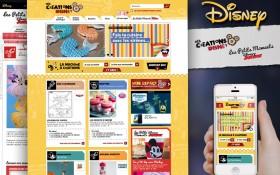 Zee Agency, Mickey, Minnie et tous leurs amis vous présentent Mes Créations Disney