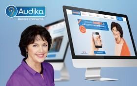 Zee Agency signe la mise à jour du site mini-site Connect.audika.com