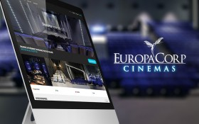 Zee Agency signe la conception & réalisation du site B2B d'Europacorp CINEMAS
