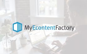 Zee conçoit le site MyEcontentFactory pour Gutenberg Technology